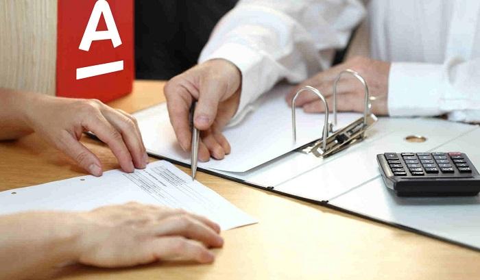 Справка о задолженности по кредиту Альфа-банк